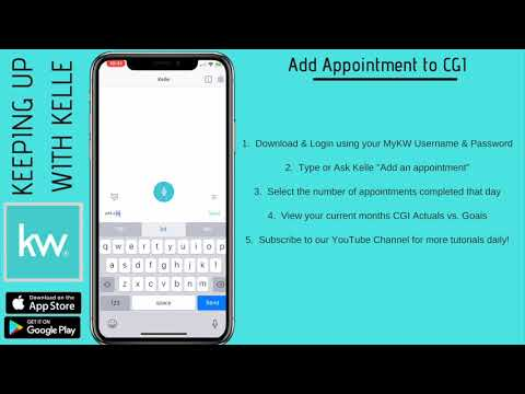 Keeping up with Kelle | Add Appointment to CGI