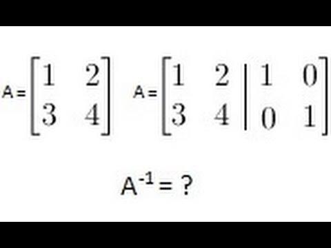 algebra finding the inverse of a matrix 2 of 2 a 2x2. Black Bedroom Furniture Sets. Home Design Ideas