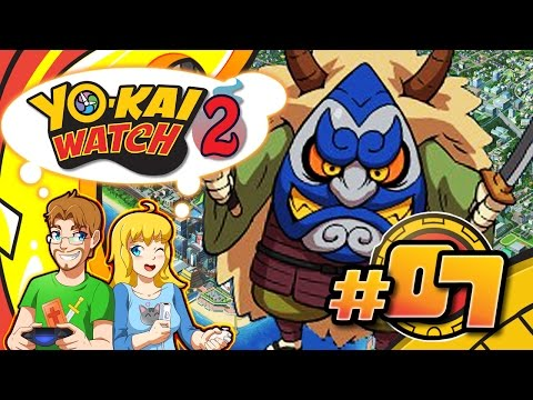 Yo-kai Watch 2 Bony Spirits Walkthrough Part 7 Snartle Museum Crossing Guard (HD)