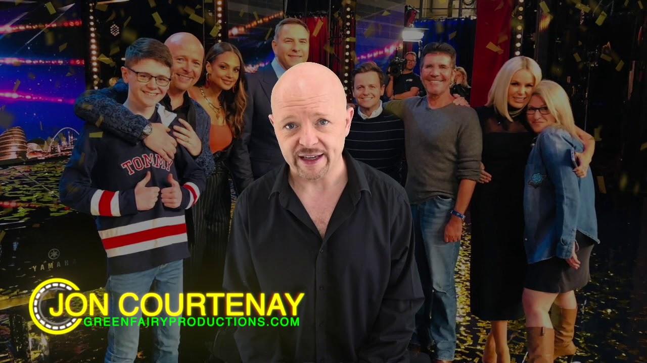 Jon Courtenay S Dreams Come True When He Earns Ant Dec S Golden Buzzer On Britain S Got Talent Youtube