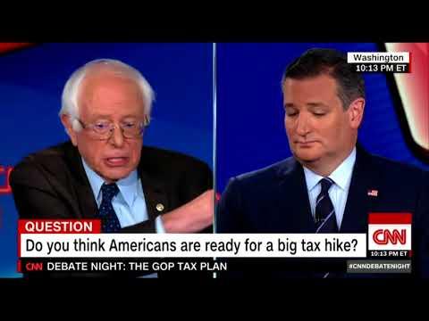 Bernie Gulags Ted Cruz's Anti-Tax Fundamentalism
