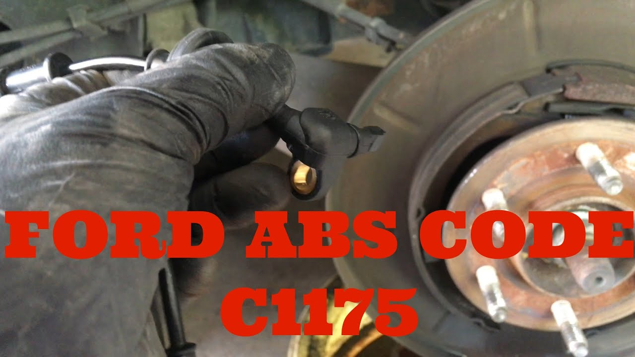 hight resolution of 2003 2006 ford expedition lincoln navigator abs code c1175