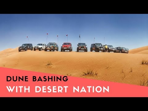 Into the Deserts of U.A.E with Desert Nation