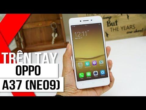 FPT Shop - Trên tay OPPO A37 (Neo 9): Nguyên khối - Selfie ảo diệu