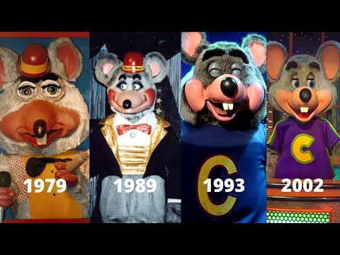Evolution Of Chuck E. Cheese's Animatronic Show Stages