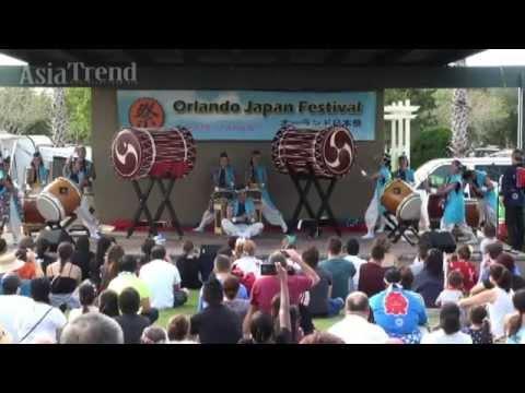 Taiko performance - Orlando Japan Festival 2015