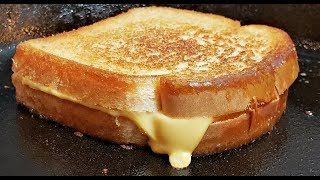 This Will Make You Want A Grilled Cheese Sandwich | Basic Grilled Cheese Sandwich