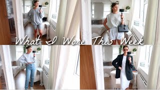 WHAT I WORE THIS WEEK | 7 SUMMER OUTFITS | AD | Amy-Beth