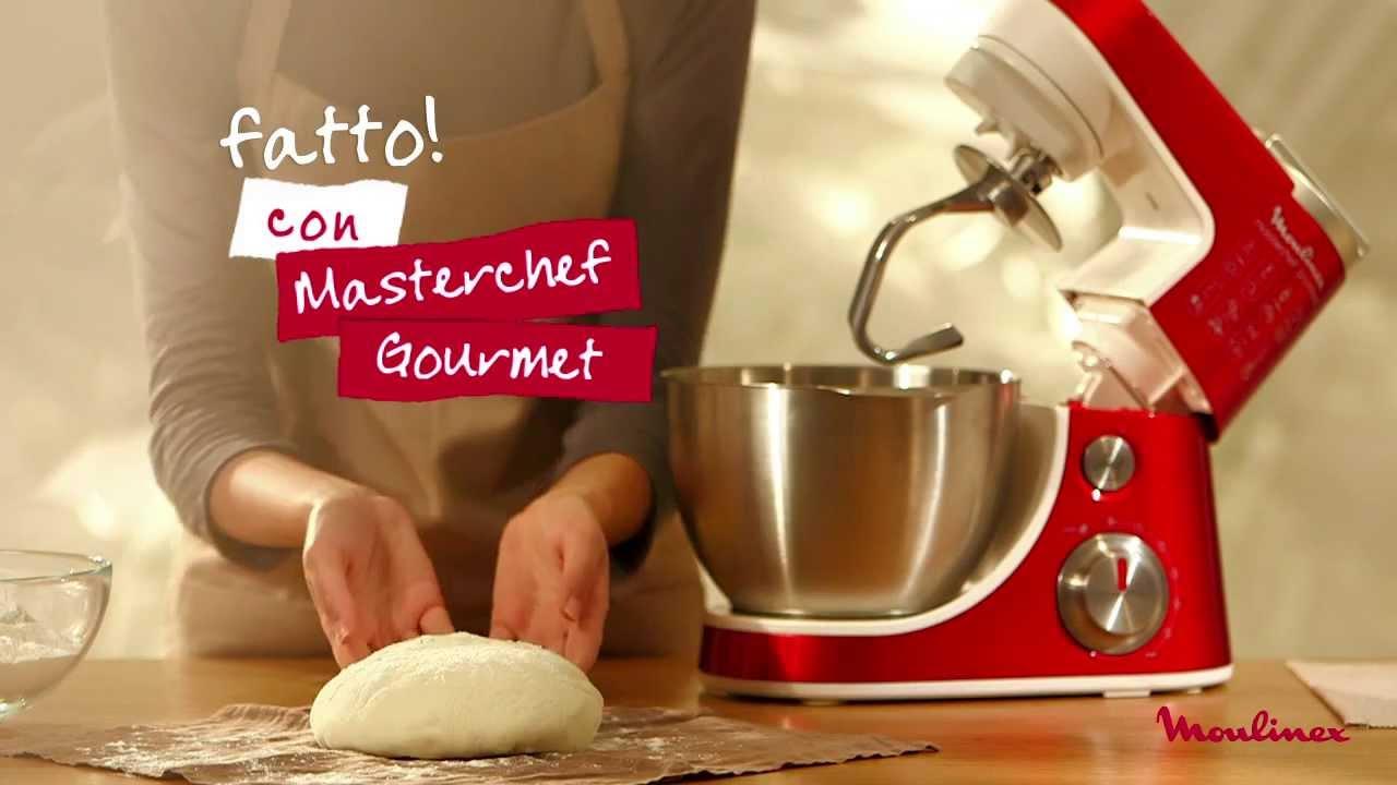 masterchef gourmet moulinex l 39 impasto del pane in 45. Black Bedroom Furniture Sets. Home Design Ideas