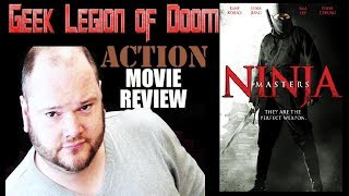 NINJA MASTERS ( 2009 ) aka ZHANG WU SHUANG Action Movie Review