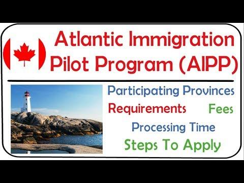 AIPP For Canada PR 2021   Atlantic Immigration Pilot Program 2021