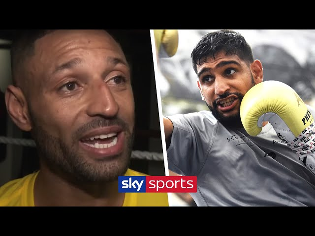 """'I'm fed up of saying anything about him!"""" - Kell Brook on Amir Khan & facing Mark DeLuca on 8th Feb"""