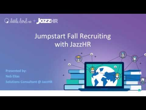 JazzHR |Little Bird HR Demonstration