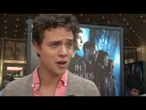 "Percy Jackson: Sea of Monster: Douglas Smith ""Tyson"" Premiere Interviewv"