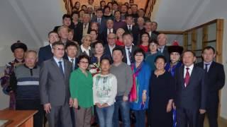 Открытие выставки Кима Базарсадаева