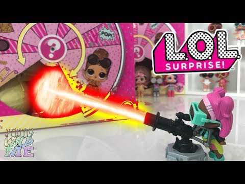 V.R.Q.T's Invention Gone Wrong!  Mini LOL Surprise Confetti Pop FAKE LOL Doll - Blind Bags