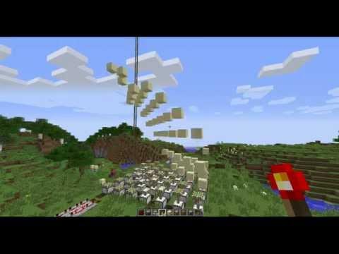 Minecraft Mülltonne [Pistons]