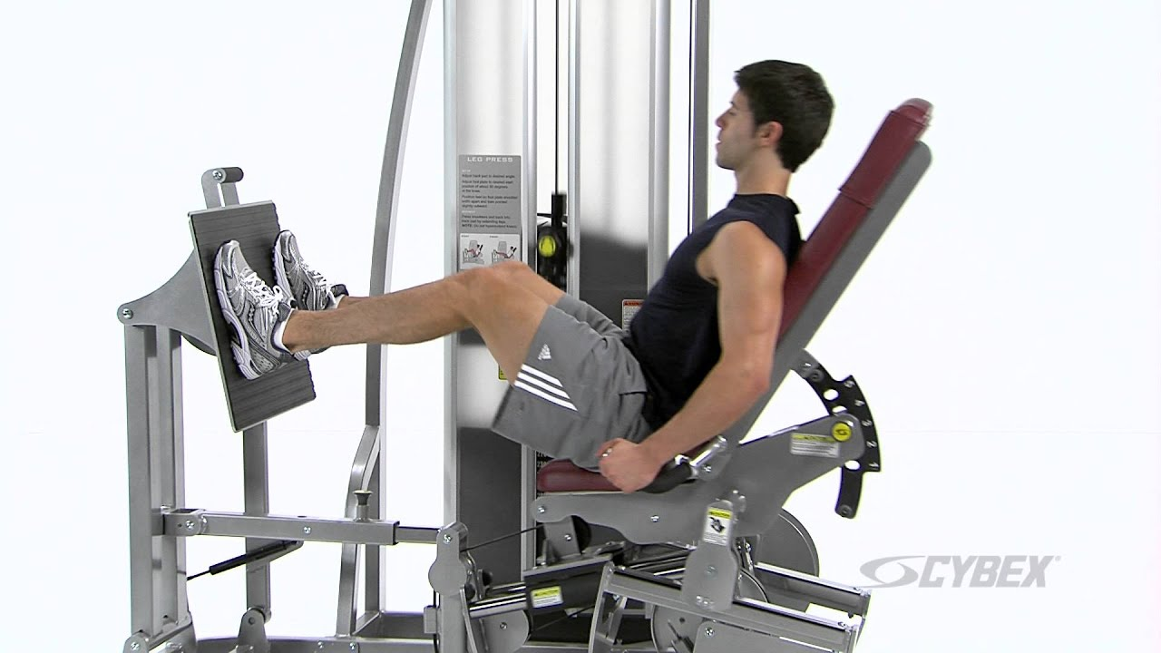 leg press machine cybex