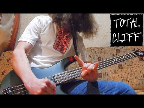 #17 Metallica - Master of Puppets bass cover (free bass tab on AndriyVasylenko.com)