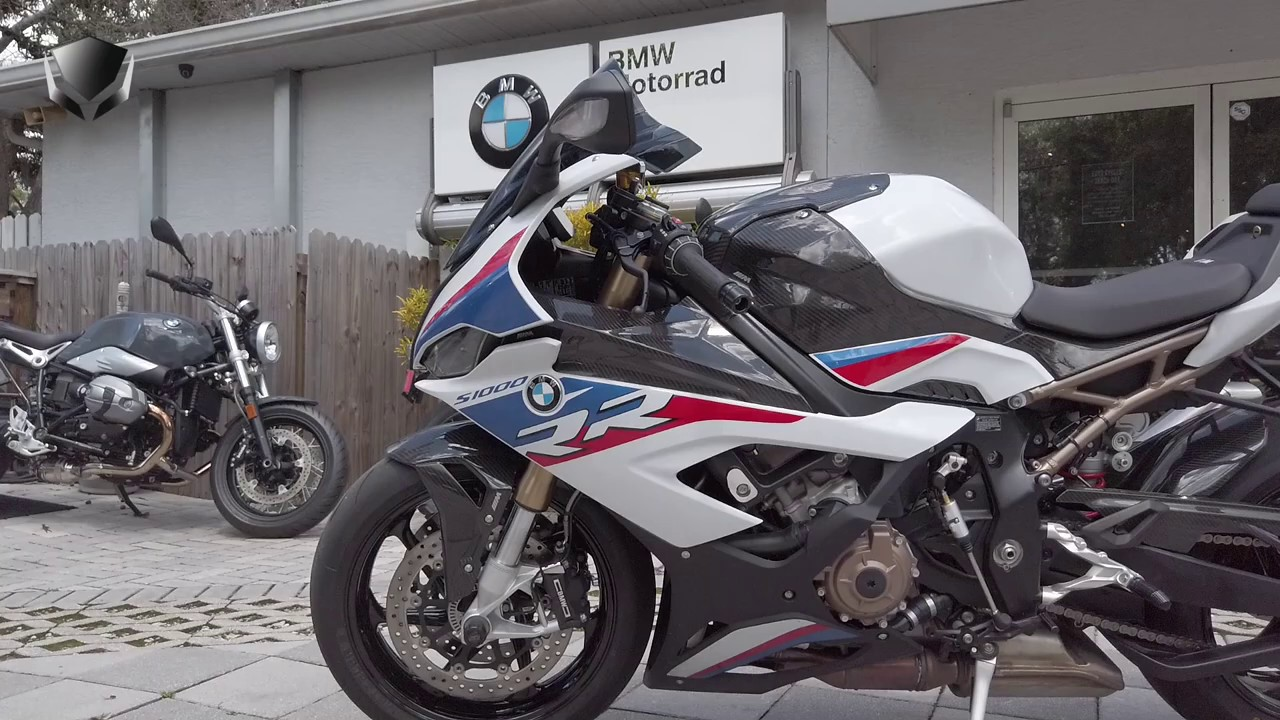 2020 Bmw S1000rr M Package Loaded With Carbon Fiber At Euro Cycles Of Tampa Bay Youtube
