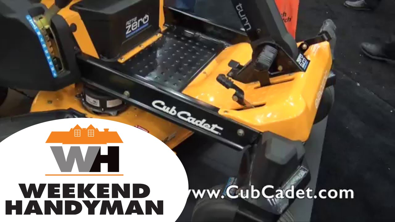 Zero Turn Mower Cub Cadet Electric Rzt S Weekend Handyman You