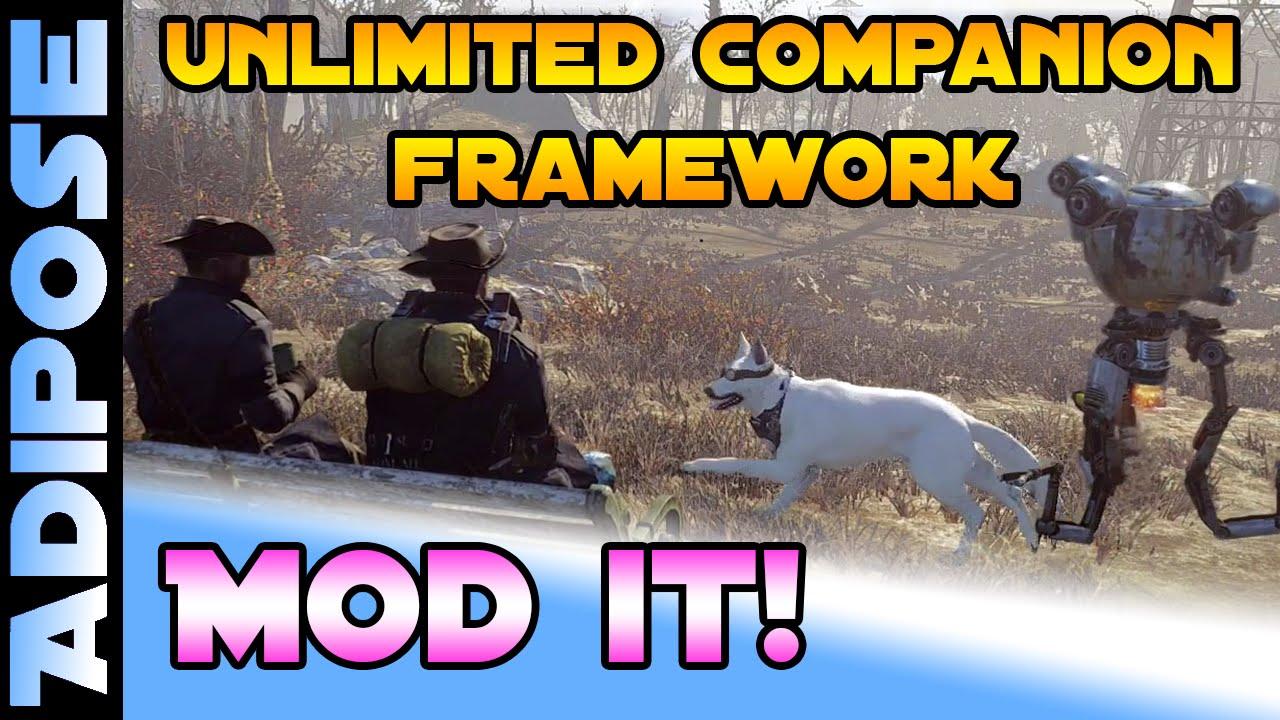 Fallout 4 - Unlimited Companion Framework - MOD IT! #11