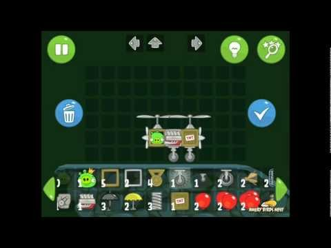Bad Piggies Sandbox S-S Skulls Walkthrough How to Get All 20 Stars