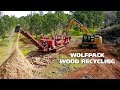 Wolfpack Wood Recycling:  From Crisis to Clean-up at the Oroville Dam (Morbark Owner)