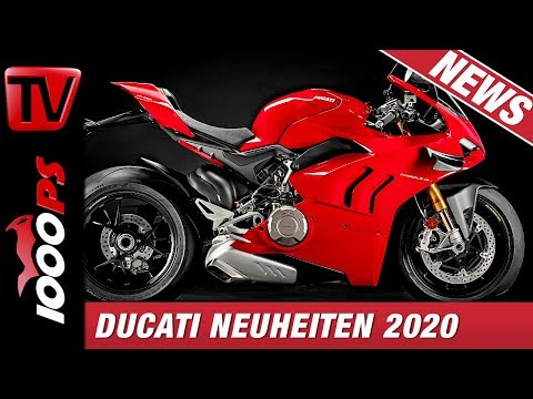 Ducati Neuheiten 2020 - Neue V4 aber auch gepflegte V2 Modelle - EICMA 2019