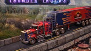 3D Parking Thunder Trucks - Gameplay Video