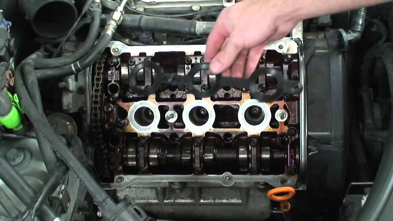 Audi a4 valve cover gasket replacement