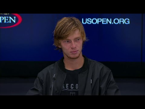 2017 US Open: Andrey Rublev QF Press Conference