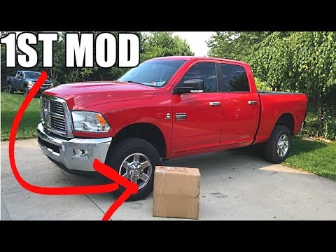 WHAT'S IN THE BOX? THE FIRST CUMMINS MOD IS HERE!!!!