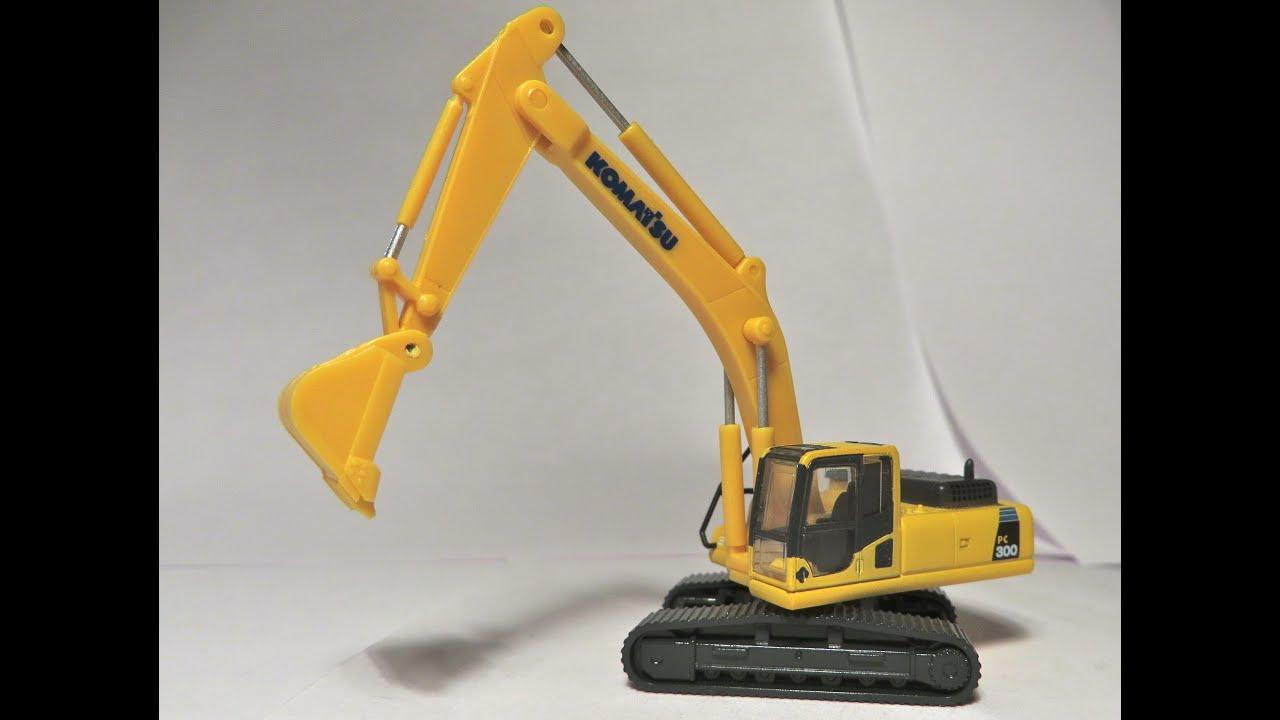 Tomytec 1 150 Komatsu Pc300 Excavator