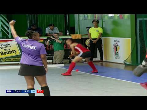 Day 1 - USA vs Trinidad & Tobago (Women) Part 1