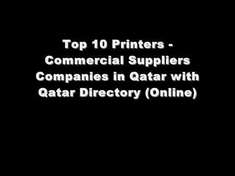 Top 10 Printers - Commercial Supplies Companies in Doha, Qatar