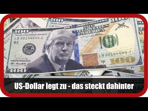 Devisenexperte Wiedemann: US-Dollar legt zu - das steckt dahinter
