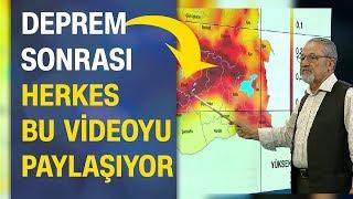 Elazığ depremi sonrası herkes bu görüntüyü paylaşıyor! Prof. Dr. Naci Görür uyarmıştı