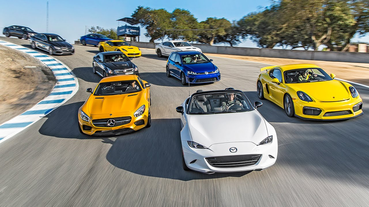 Picking The 2015 Motor Trend Best Driver's Car!