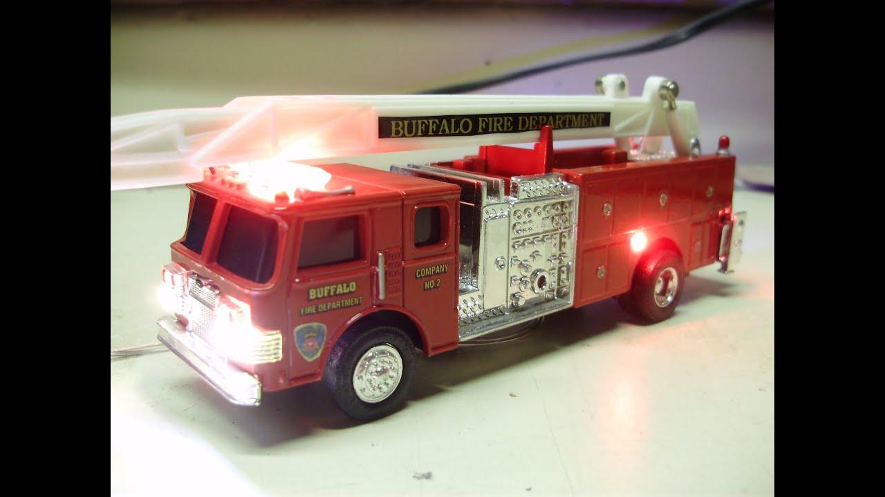 Custom 1 64 Scale Diecast Ertl Ladder Truck Buffalo Fire