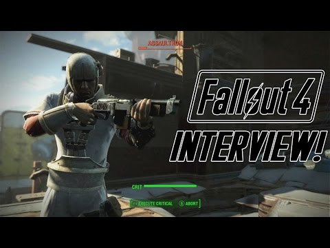 FALLOUT 4 Post Launch Interview w/ Male Protagonist Brian Delaney - H.A.M. Radio Podcast Ep 38