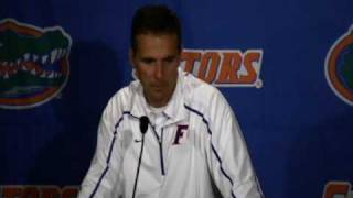 Urban Meyer Post Game Press Conference: UF vs. FSU