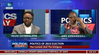 We Are Hoping To Disrupt The Politics As We Know It In 2019 - Oby Ezekwesili Pt.2 |Politics Today|