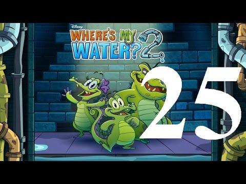 Where's My Water 2 Level 25: Thingamabob 3 Ducks IOS Walkthrough