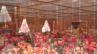 Розовый и оранжевый в Оформлении свадьбы