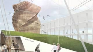 Vietnam Pavilion At Expo 2013 - Milano (mia's Architecture Design Proposal)