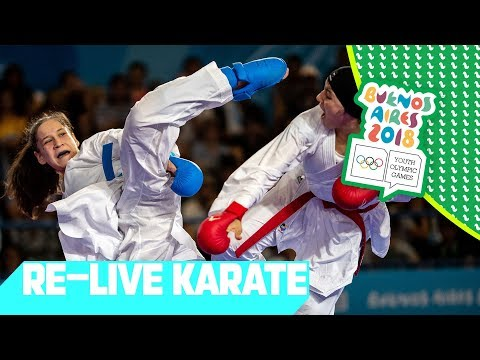 LIVE 🔴 Day 12: Karate | Youth Olympic Games 2018 | Buenos Ai