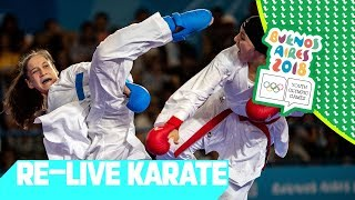 LIVE 🔴 Day 12: Karate | Youth Olympic Games 2018 | Buenos Aires thumbnail