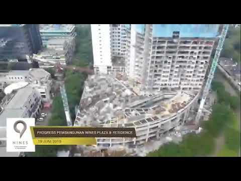 Progres Pembangunan Nines Plaza Residence CBD BSD Serpong