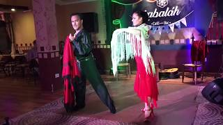 Georgina & Oscar Mandagaran extract from a Flamenco show